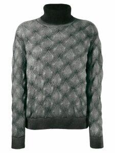 Avant Toi high neck sweater - Grey
