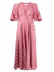 Golden Goose ruffled empire line dress - Pink