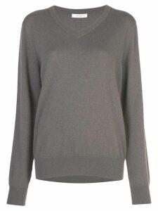 The Row V-neck jumper - Grey