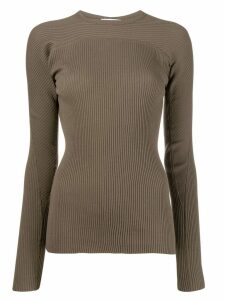 Helmut Lang ribbed sweater - Green