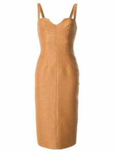 Manning Cartell scoop neck dress - Brown