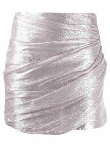 Dsquared2 draped mini skirt - Pink