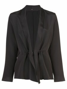 Peter Cohen lightweight blazer - Black