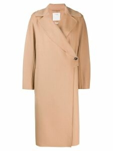 Sportmax oversized coat - Neutrals