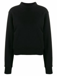 Maison Margiela structured sweatshirt - Black