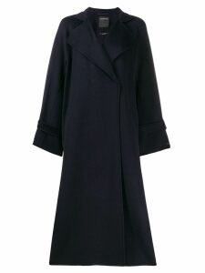 Sport Max Code oversized coat - Blue
