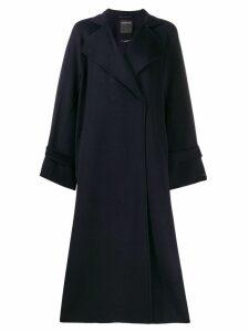 Sport Max Code oversized coat - Blue