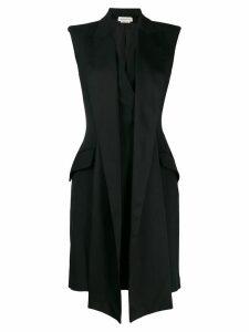 Alexander McQueen scarf detail dress - Black