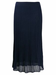 Vince long pleated skirt - Blue