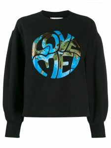 Alberta Ferretti logo sweater - Black