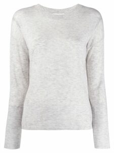 Vince classic long sleeve top - Grey
