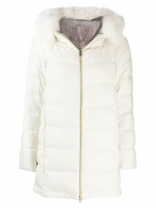 Herno padded coat - White