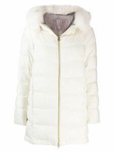 Herno padded coat - White