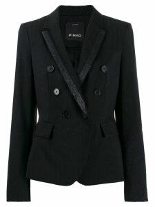 Pinko glitter detail blazer - Black