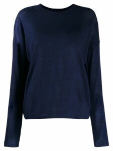 Vince round neck jumper - Blue