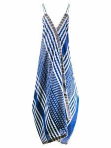 Rahul Mishra Marine Ballon dress - Blue