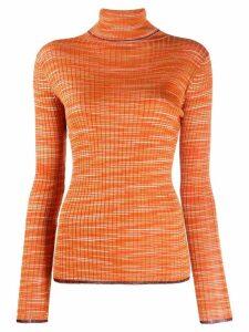 M Missoni Slub lurex sweater - Orange