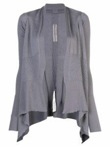Rick Owens medium wrap cardigan - Blue