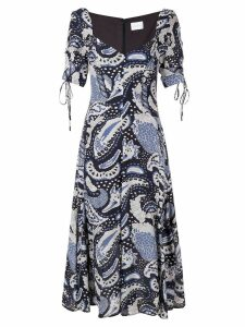 Alice McCall paisley print midi dress - Blue