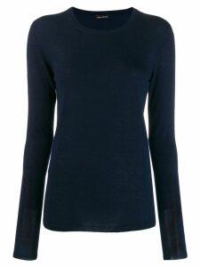 Iris Von Arnim knitted top - Blue