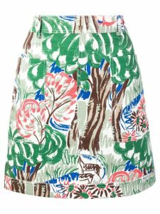 Victoria Victoria Beckham pocket skirt - Green
