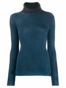 Avant Toi turtleneck cashmere jumper - Blue