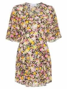 Les Reveries floral print mini dress - PSYCHWEDELIC MEADOW