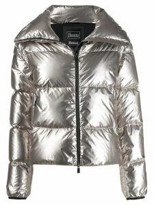 Herno high-neck puffer jacket - Grey