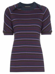 Y/Project striped T-shirt - Multicolour