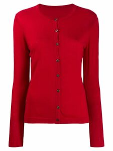 Sottomettimi merino wool knitted cardigan - Red