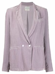 Forte Forte double breasted blazer - Purple