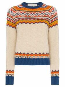 Golden Goose Momo Aztec intarsia jumper - Multicolour
