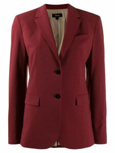 Theory classic fitted blazer - Red