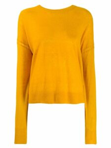 Isabel Marant Étoile dropped shoulder sweater - Yellow