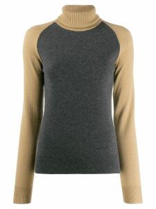Givenchy contrasting sleeve jumper - Grey