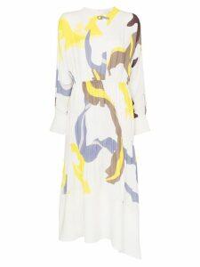 Tibi Ant Farm print panel dress - Multicolour