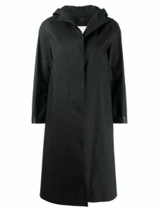 Mackintosh CHRYSTON Black Bonded Cotton Hooded Coat LR-1002D