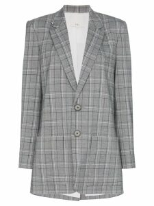 Tibi James check pattern blazer - Multicolour