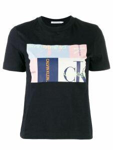 Calvin Klein Jeans graphic print T-shirt - Black