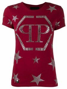 Philipp Plein starts T-shirt - Red