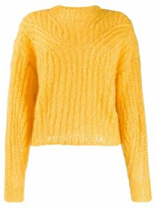 Isabel Marant chunky jumper - Yellow