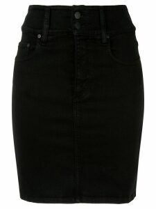 Nobody Denim hi-rise skirt - Black