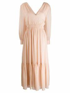 Sandro Paris Chaireen dress - NEUTRALS