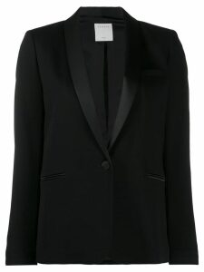 Sandro Paris shawl collar blazer - Black