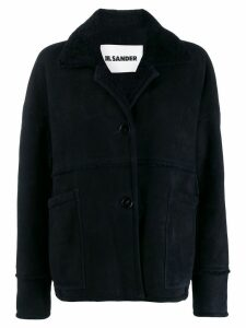 Jil Sander Laney short coat - Blue