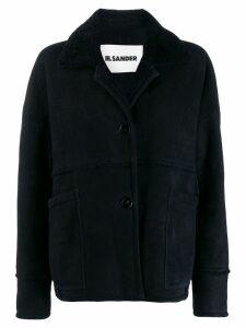 Jil Sander Laney short coat - Blue