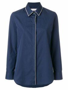 Golden Goose piped trim shirt - Blue