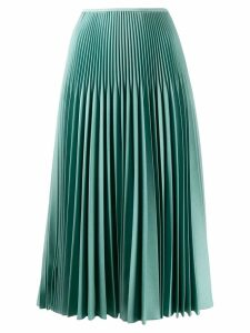 Fendi sunray pleated skirt - Blue