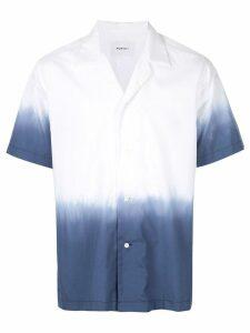 Ports V ombré button up shirt - White