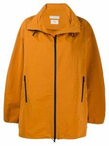 Bottega Veneta tech coat - Orange